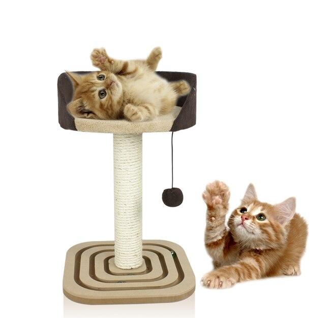 Productos para mascotas cuerda de Sisal tablero del rasguño de gato ...