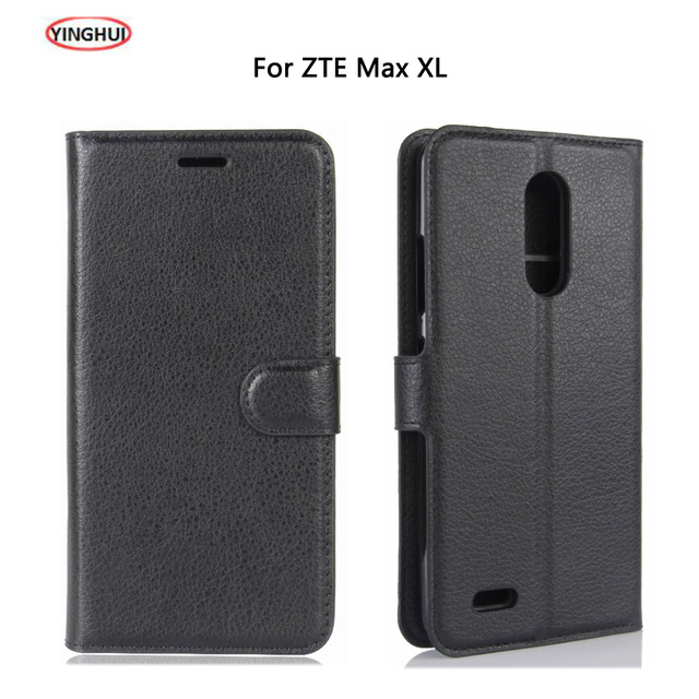 size 40 d7f39 f7644 US $3.43 20% OFF|YINGHUI For ZTE MAX XL N9560 Z986 / ZTE Blade X Max Case  Luxury PU Leather Back Cover For ZTE MAX XL Case Flip Protective Phone-in  ...