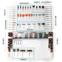 Rotary Tool Bits Set Electric Dremel Rotary Tool Accessories For Grinding Polishing Cutting Abrasive Tools Kits