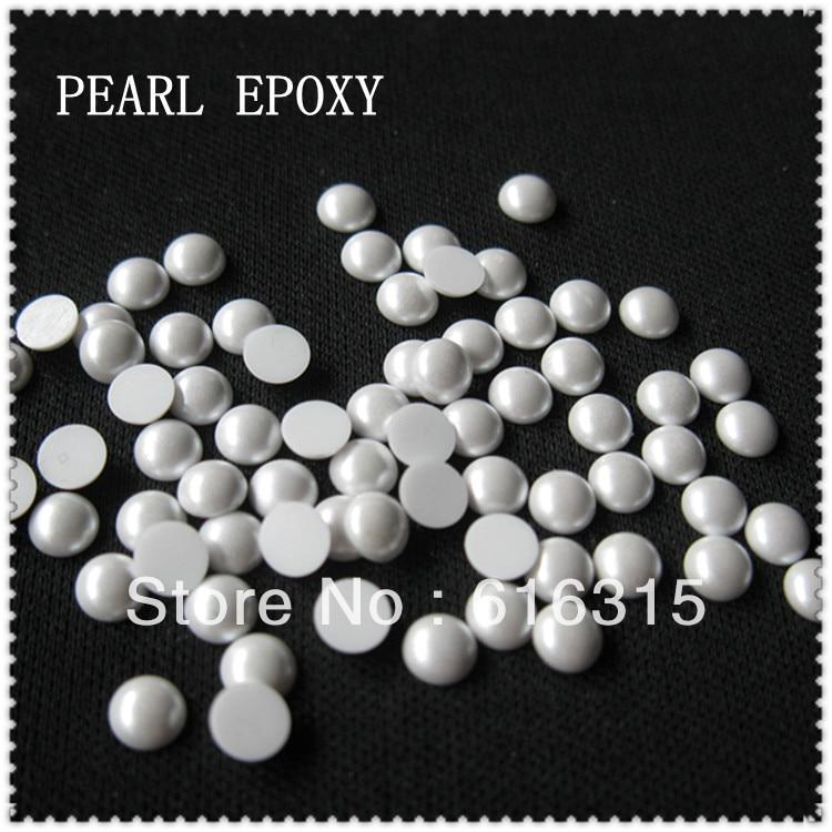 진주 rhinestne 중국 도매 공급 업체; 진주 돌에 3mm 철 10 그로스 각 팩 한국어 고품질