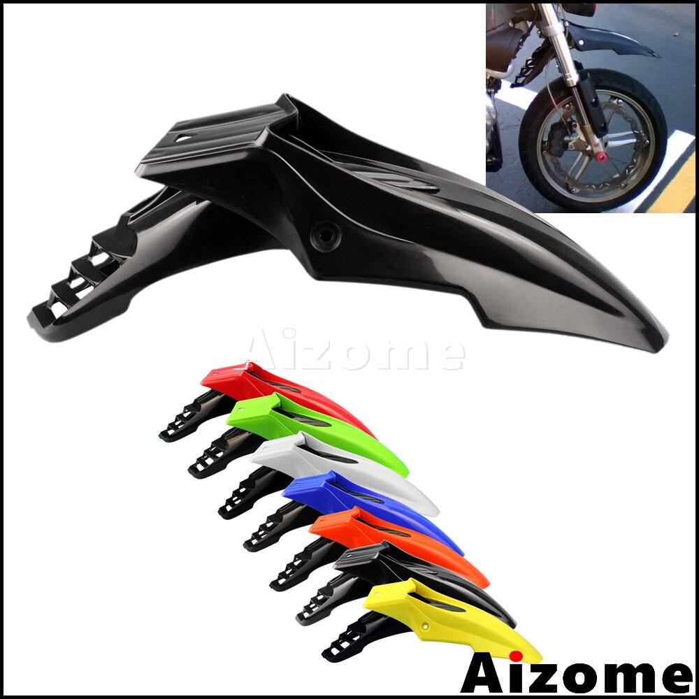 Universal Supermoto Motocross Dirt Bike Front Fender 2072680001 Black Mudguard For Honda Yamaha Suzuki Kawasaki DRZ RMZ XT TW
