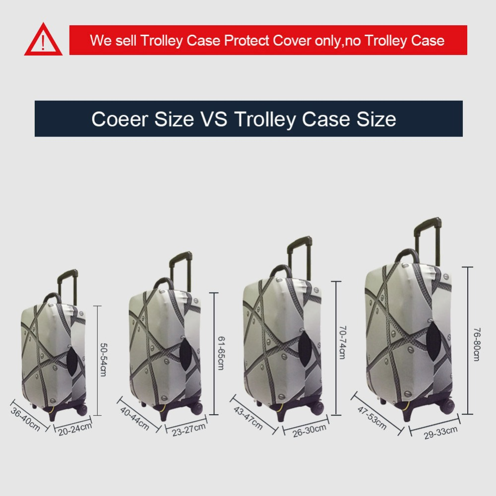 Chinese Style Design travel accessories suitcase protective covers 18 32 inch elastic luggage dust cover case stretchable in Travel Accessories from Luggage Bags