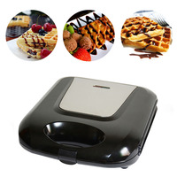 750W 220V Electric Waffle Maker Mini Cake Eggs Oven Non Stick Waffle Maker Sandwich Muffins Grill Plate Pan Cooking Machine