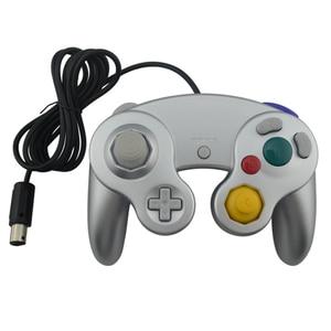 Image 4 - Takip numarası ile kablolu oyun denetleyicisi Gamepad için N G C Joystick için bir düğme oyun küp W i i