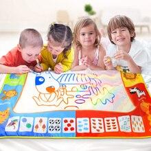 Большой размер 120*90 см Коврик для рисования водой коврик с волшебной ручкой доска для рисования детский ковер для рисования Обучающие Развивающие игрушки для детей