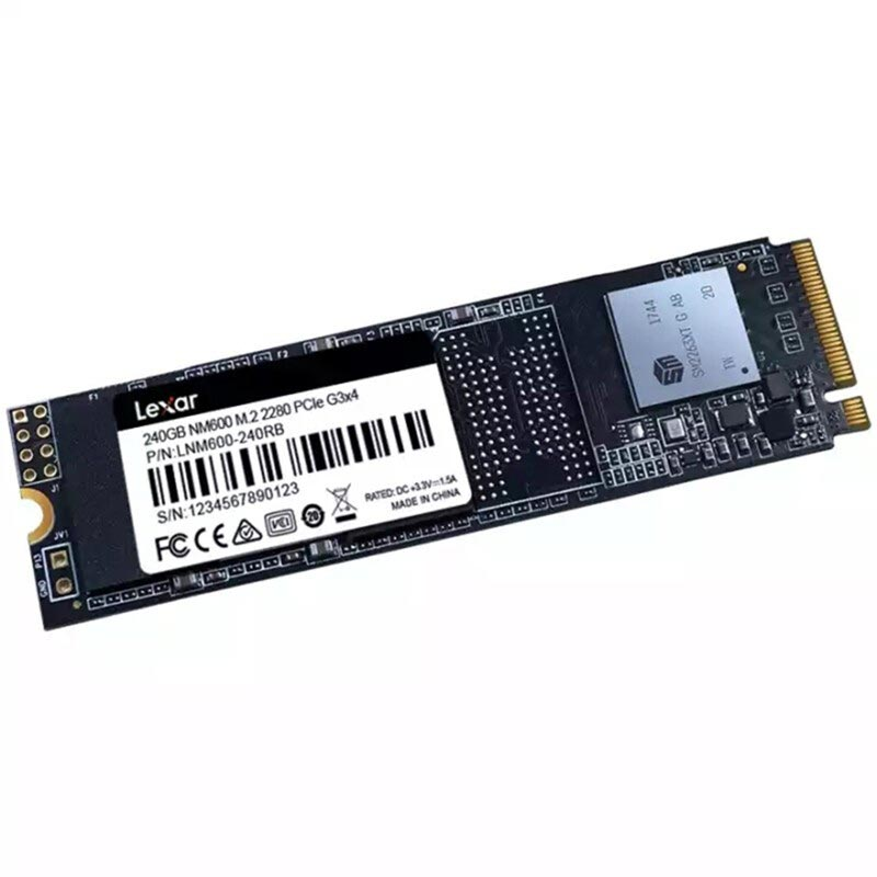 Lexar HD SSD M2 240GB Internal Solid State Disk HDD Hard Drive NM600 m.2 ssd 2280 hdd Laptop Desktop PC disco duro ssd 240 gb
