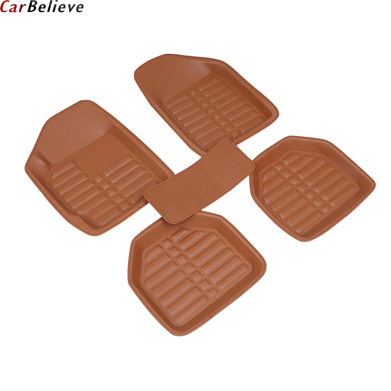 Car Believe car floor Foot mat For alfa romeo giulietta waterproof accessories carpet