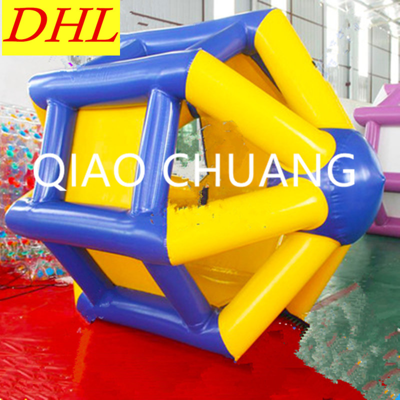 Inflatable Treadmills WATER PARK Thicken Non slip Roll The Ball Aerated Toy PVC Kids Outdoor Toys G948