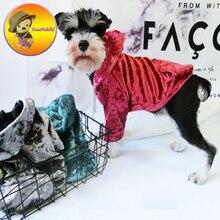 Новые Поступления Одежда для собак толстовки корги французский одежда для бульдога стильный товары отдыха Vestidos Pet Одежда