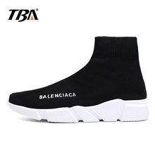 ФОТО tba high quality lovers socks shoes for men breathable men's casual shoes luxury brand trainers slip-on krasovki 2018