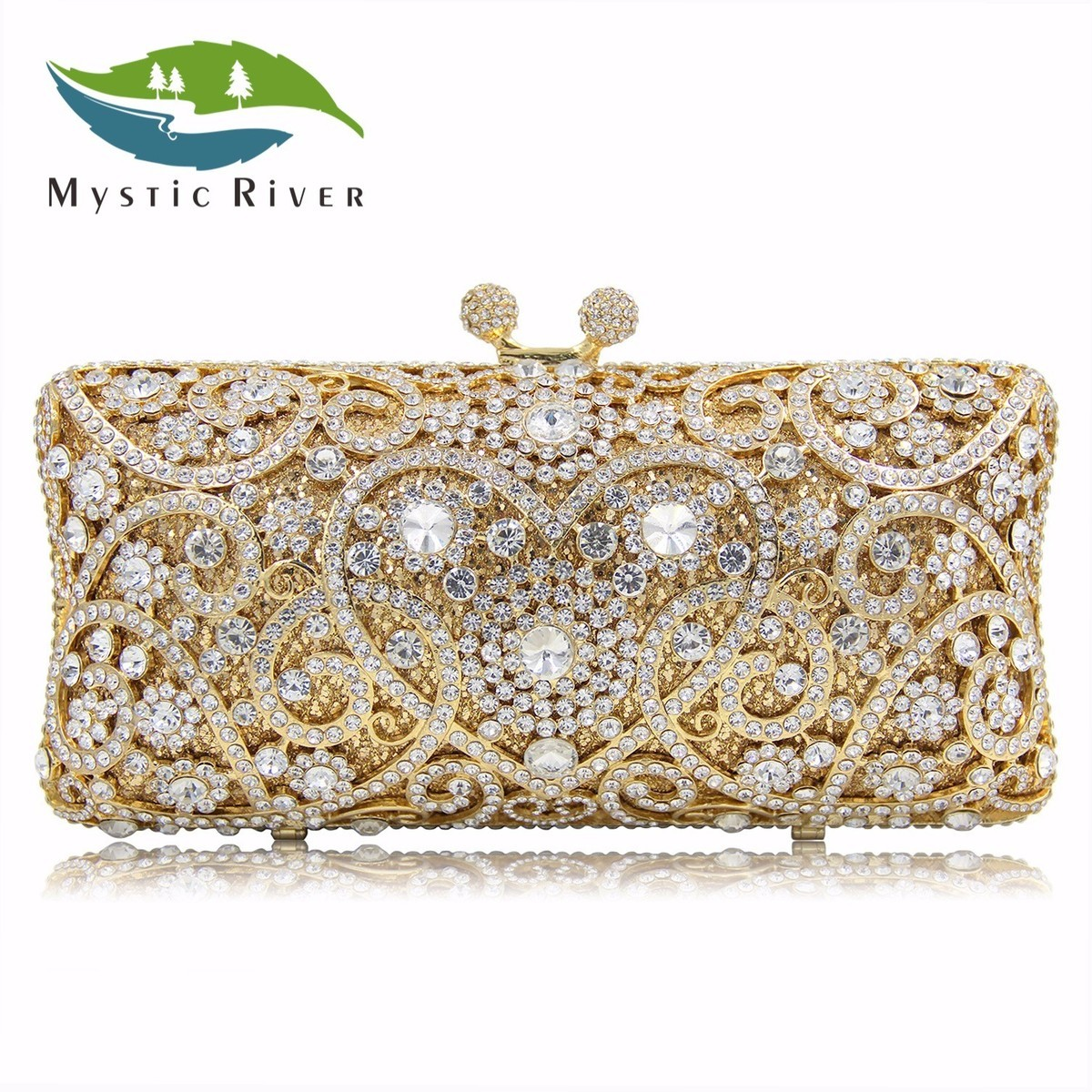 Mystic River Brand Women Evening Bags Top Quality Fantasy Red Colour Party Purse Oval Shaped Clutches Wedding Bag сумка river island river island ri004bwzyz56