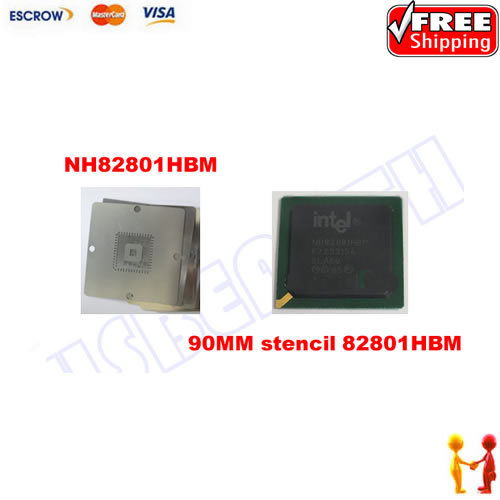 Freeshipping 100% NEW INTEL 82801HBM IC Chipset With BGA STENCIL 90MM (NH82801HBM) автомобильные колонки 13 см sony xs fb1320e z
