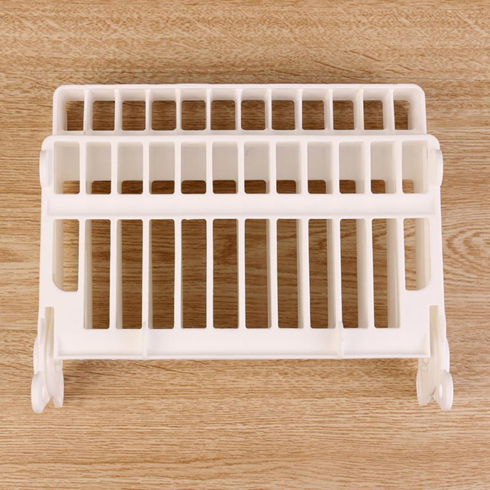 Foldable Dish Plate Drying Rack Organizer Drainer Plastic High Quality Kitchen Storage Holder For Cup Bowl Kitchen Accessories in Storage Holders Racks from Home Garden