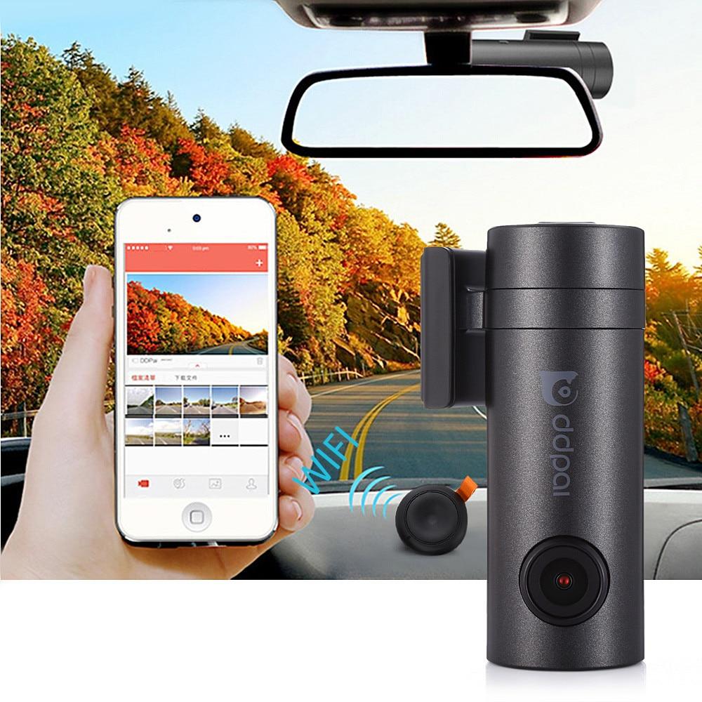 DDPai Mini Full HD 140 degree 1080P Camera WiFi Car DVR Vehicle Digital Video Recorder Dash Cam Road Camcorder