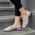 Plus Size 34-48 fashion sweet style Square Toe low heel casual Flats Tassel Designer Square Toe Ladies Oxford Shoes Women Shoes