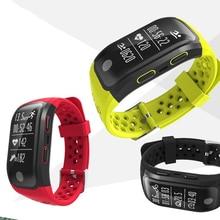 S908 импульса Мониторы браслет Спорт Фитнес браслет сердечного ритма GPS трекер Smart Band IP68 Водонепроницаемый Bluetooth группа PK Mi band2