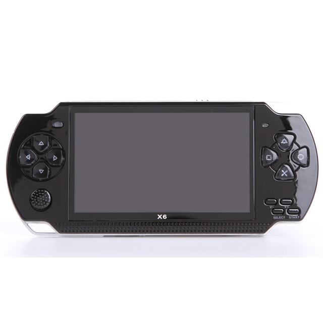 Livraison gratuite Console de jeu portable 4.3 pouces écran mp4 lecteur MP5 lecteur de jeu réel 8 GB support pour jeu psp, caméra, vidéo, e-book - 3