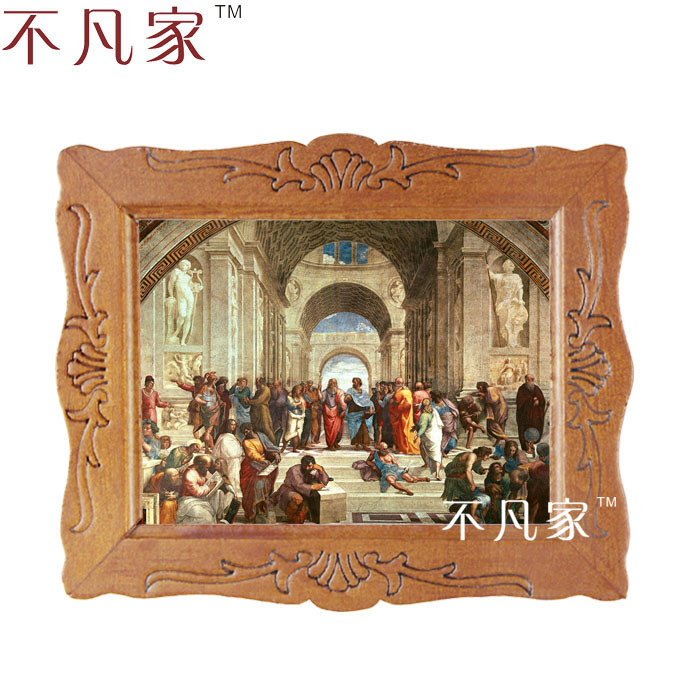Dollhouse 1:12 scale Wholesale miniatue Classical Religion 1 oil painting D-1