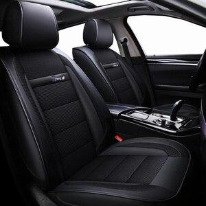 Image 1 - חדש יוקרה עור אוניברסלי רכב מושב כיסוי עבור טויוטה כל מודלים טויוטה rav4 טויוטה קורולה chr לנד קרוזר פראדו premio קאמרי