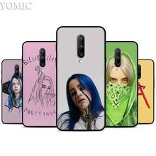 Billie Eilish Silicone Case for Oneplus 7 7Pro 5T 6 6T Black Soft Case for Oneplus 7 7 Pro TPU Phone Cover