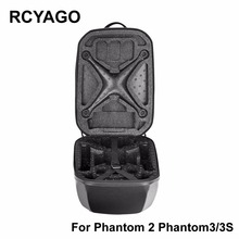 RCYAGO phantom 3 DJI SPARK Drone PC Storage Box Hardshell Bag Waterproof Bag Standard Dedicated  Drone Handbag for dji spark bag