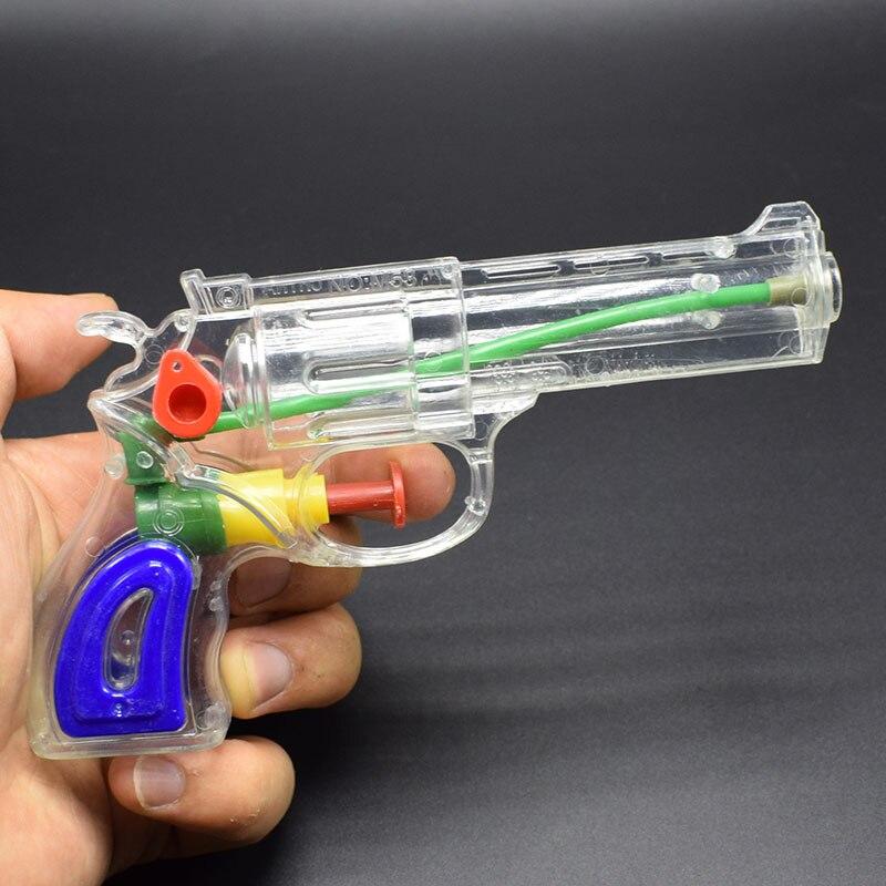 Оптовая продажа 10 шт./лот Пластик Прозрачный водяной пистолет игрушка навигация бассейн игрушка детская летняя пляжная детская Бассейны