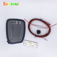 Mirror Glass Heated Pad Mat Defoggers Remove Frost Fit Most DC 12V Vehicle Car Free Shipping