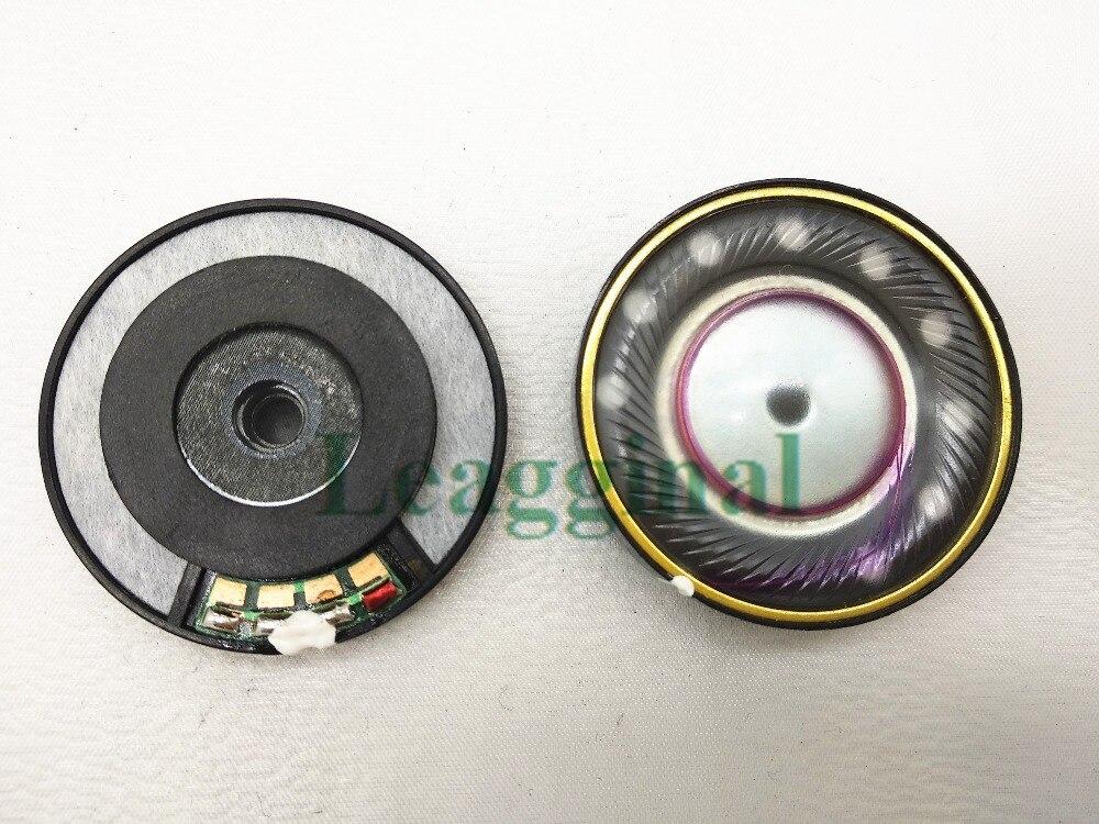 40mm haut parleur unité parfaite qualité sonore trois diaphragme unité 40mm casque accessoires unité 2 pièces-in Écouteurs from Electronique    1
