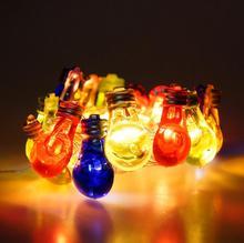 USB 3 м 20 лампа Цветная декоративная лампа струнная светодиодная форма лампа струнная цветная лампа струнная