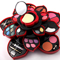 2 opción más nuevo profesional 46 colores completos de maquillaje Kit Blush delineador labial paleta de maquillaje colección 3D colección para el regalo