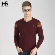 Cashmere Wool Sweater Men 2016 New Arrival Spring Autumn V-Neck Pullover Solid Color Shirt Casual Pull Homme Brand Sweaters 6615