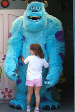 Ohlees Monsters University Sully Mascot Costume Halloween Christmas Birthday Props animal Costumes fur Outfit Catoon character