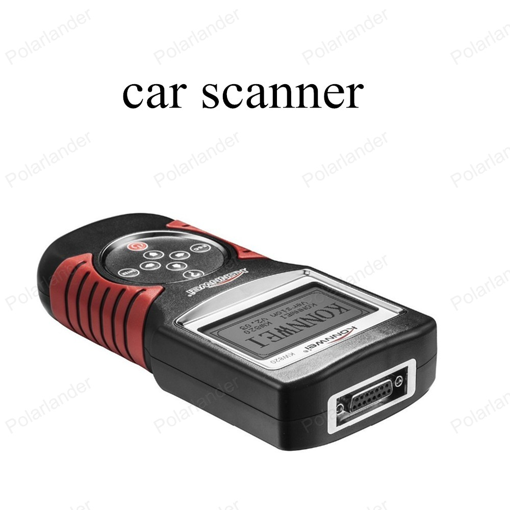 ФОТО [High Quality] car code scanner KW820 Fault Reader CAN OBD2 Engine Managment Works For US/Asian/European Vehicles