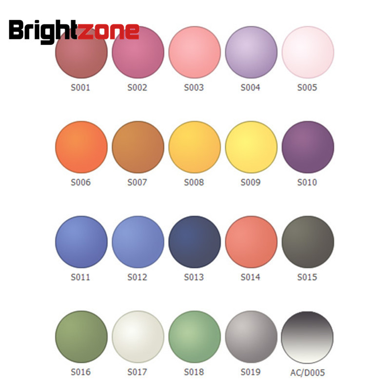 High Quality Rx Lenses1.56 Anti-Reflective HC UV Multi-color Tint CR-39 Resin Sunglasses Lentes Eyeglasses Prescription Lenses