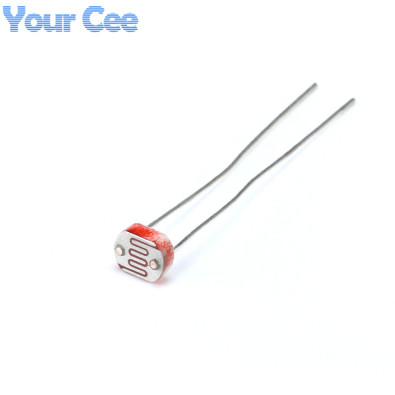 20 pcs 5mm photoresistor light dependent resistor ldr 5506