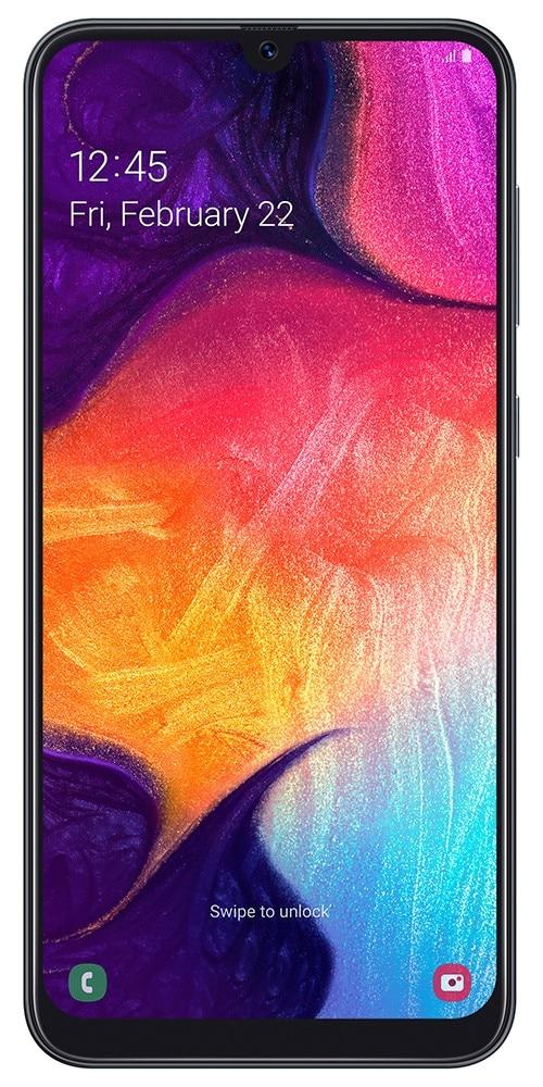 "Samsung Galaxy A50 SM-A505F, 16.3 cm (6.4""), 1080 x 2340 pixels, 2.3 GHz, 25 MP, Black"