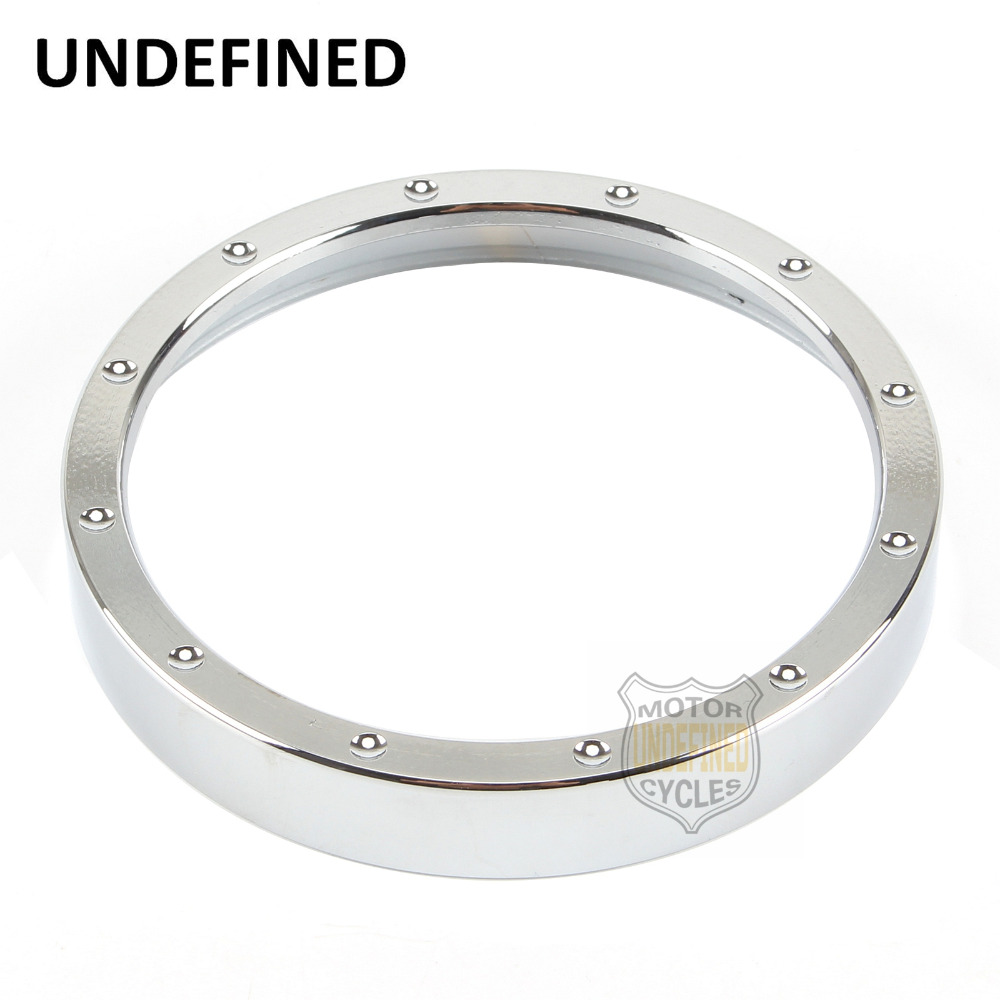 1 Pc Motorcycle Parts Chrome Speedometer Trim Ring Aluminum For Harley Sportster XL1200 883 72 48 Breakout UNDEFINED motorcycle parts speedometer trim bezel ring bracelet bracket for harley davidson sporster 883 1200 dyna street bob low rider