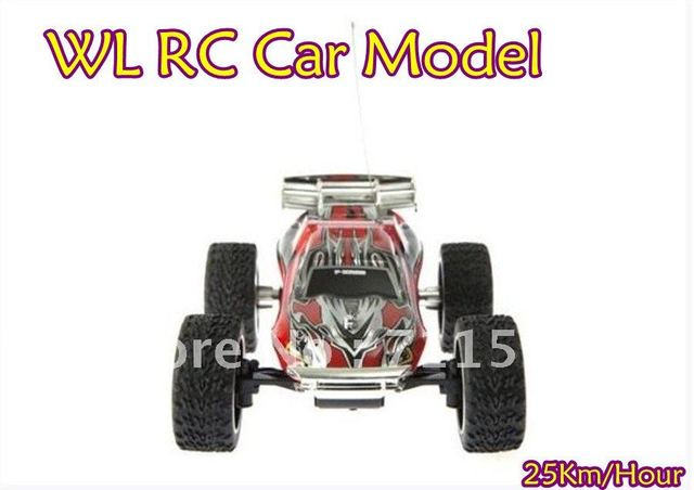 WL 2019 High Speed Mini RC Truck 4Ch 1:23 Off-Road Racing Car Model,WLtoys Super Remote Control Car Toy