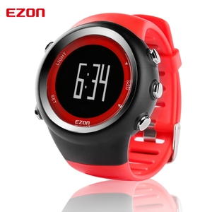 Image 2 - Mens Digital GPS sport watch for Outdoor Running and Fitness 50M Waterproof  Speed Distance pace EZON T031
