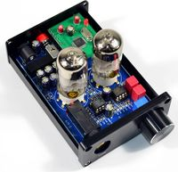 Finished HiFi 6J9 Tube Headphone Amplifier PCM2706 USB DAC Decoder Tube Preamp New