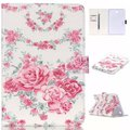 A rose in full bloom pu leather Flip Case for Samsung Galaxy Tab A8.0 T350 A9.7 T550 Tab4 T530 T230 Tab T110 case Free Shipping