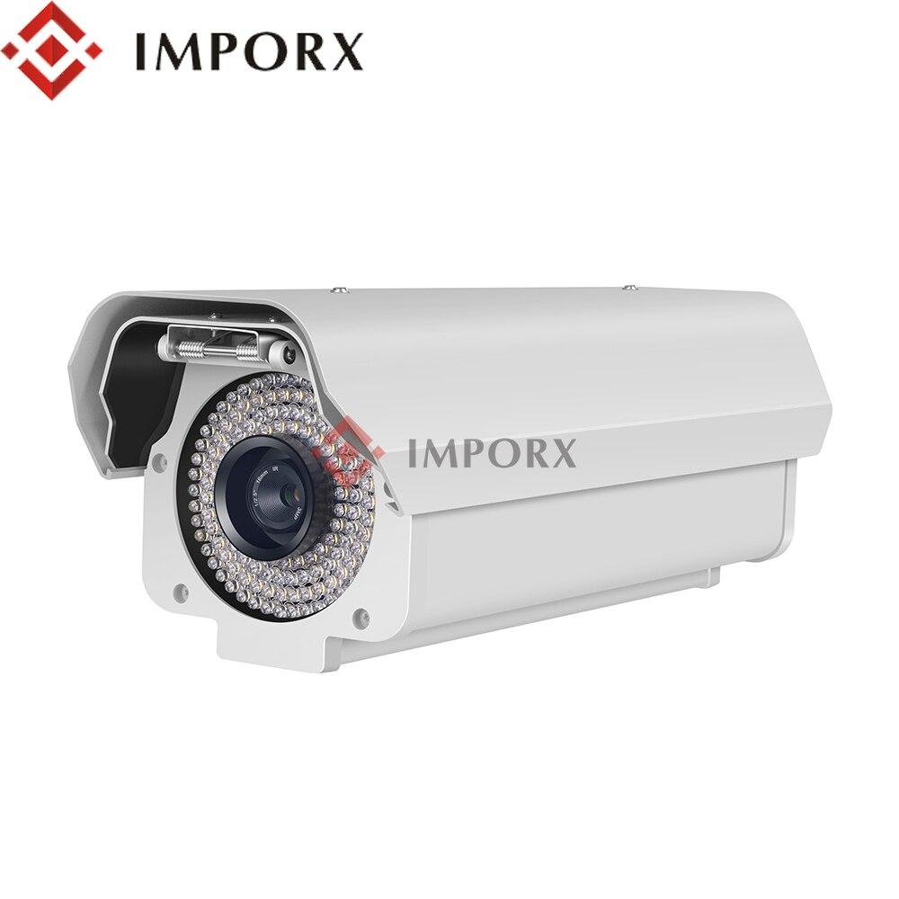 IMPORX 2MP Bala Segurança License Plate Recognition Camera LPR IP 6-16 milímetros Auto Foco 1080P Obturador Eletrônico dia/Noite Câmera