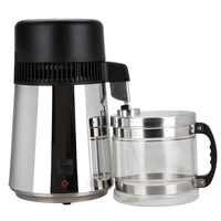 Filtre de corps d'épurateur de distillateur d'eau d'acier inoxydable de l'eau Pure de 4L de haute qualité avec le pot en verre
