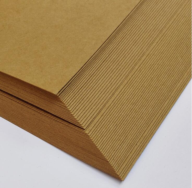 300gsm a3 size paper card thick 350gsm blank kraft paper