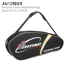JayCreer Tennis Racquet Badminton Squash Backpack Bag Case Capacity:25L Size: LXWXH(60X11.5X29CM) Waterproof & Abrasion Resistan(China)