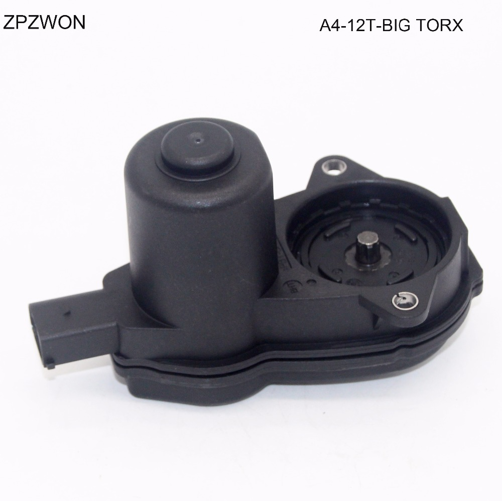 8K0998281B 6-TORX Rear Caliper Parking Brake Actuator Servo Motor for Audi A4
