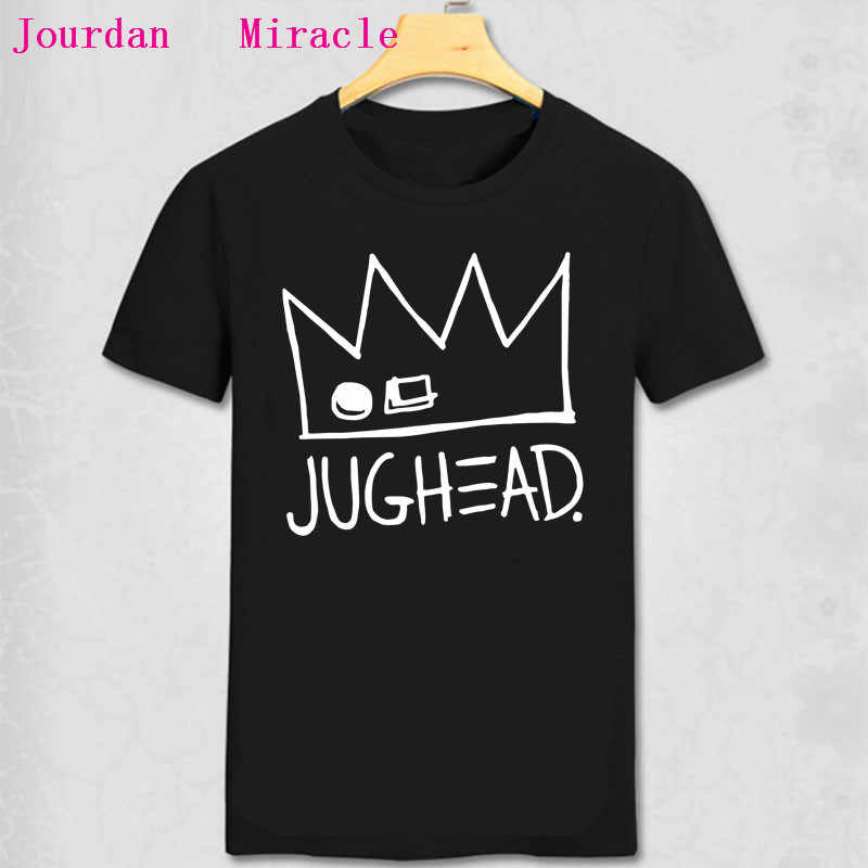 Riverdale Jughead футболка Jughead Jones Арчи Джонс Эндрюс T рубашка мужская мода хлопковая Футболка Лето Мужская рубашка с коротким рукавом