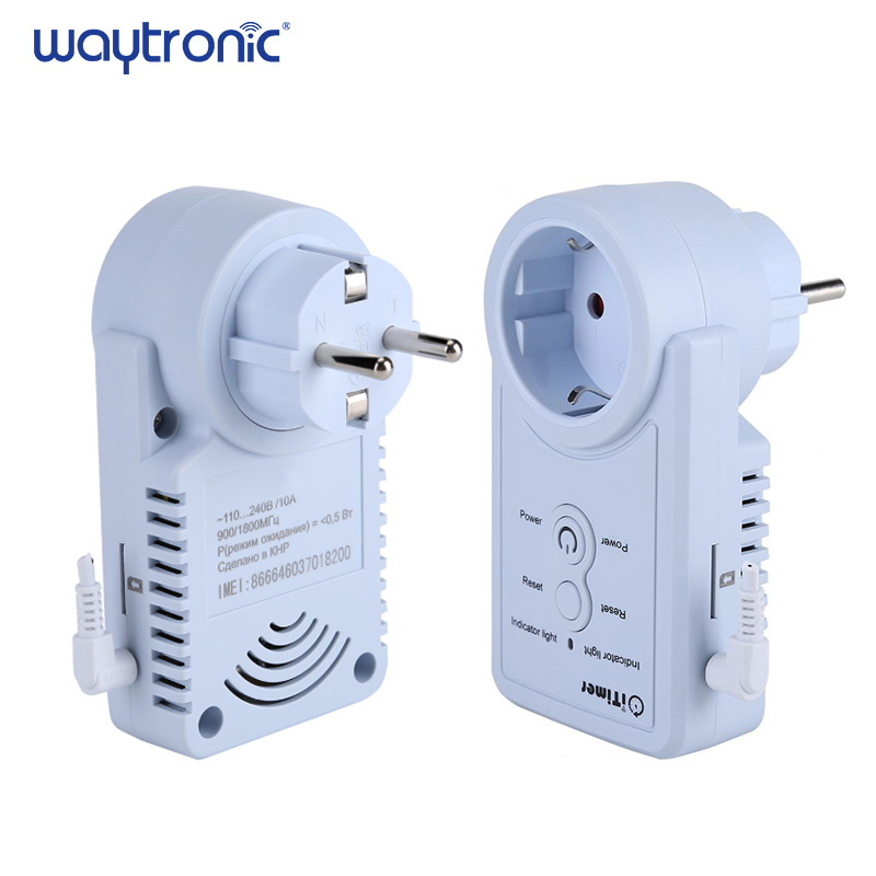 SMS Control GSM Smart Plug Switch with Temperature Sensor and Timing Control including Electricity Measurement Function 4