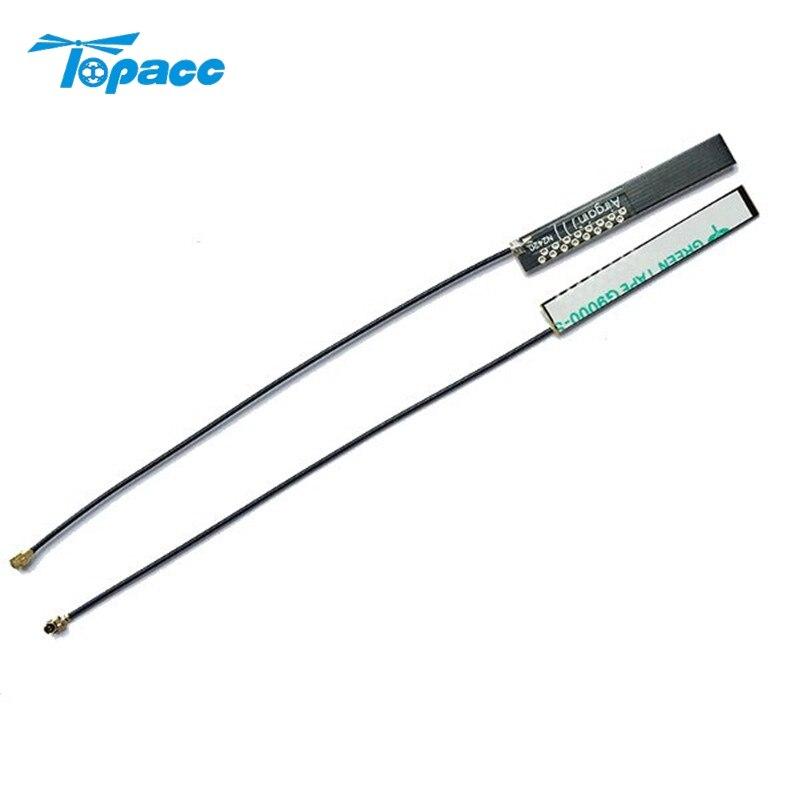 1PCS 2.4G 4db IPEX WIFI Module Antenna High Gain Omnidirectional Built-in Antenna 13cm for FPV Transmitter RC Drone Models DIY