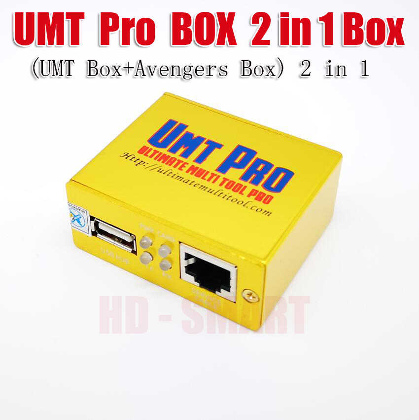 2019 Original UMT PRO 2 BOX ( UMT BOX+Avengers BOX 2in1 ) With 1 USB Cable  Free shipping